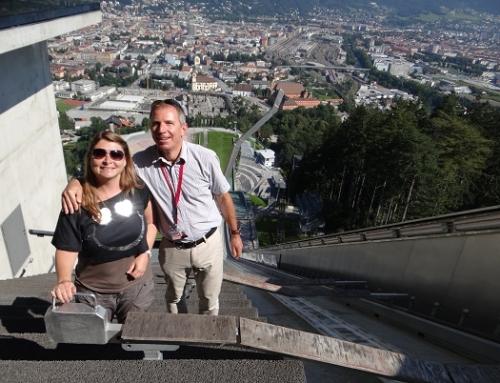Innsbruck, Bergisel Schanze und Tirol Panorama